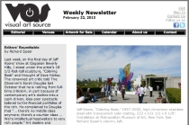 Visual Art Source Newsletter