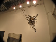 Work by Mark Baugh-Sasaki. Installation view of launch show at A Simple Collective, 2013 (photo by Tim Roseborough)