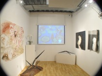 Installation view of group exhibition (Photo by Tim Roseborough)