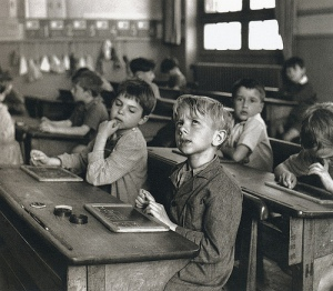 vintageschoolscene